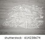 effective business planning...   Shutterstock . vector #614238674