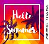 summer. | Shutterstock .eps vector #614275028