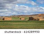 abandoned houses speaking of... | Shutterstock . vector #614289950
