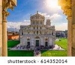 pisa cathedral  duomo di pisa ...   Shutterstock . vector #614352014