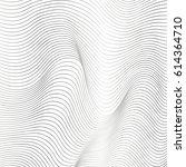 wave line background | Shutterstock .eps vector #614364710