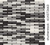 vector seamless black and white ... | Shutterstock .eps vector #614372663