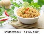 instant noodles in paper bowl