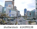 kobe japan   march 27  2017 ... | Shutterstock . vector #614390138