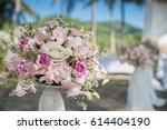 wedding set up | Shutterstock . vector #614404190