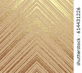 gold pattern with diagonal... | Shutterstock .eps vector #614431226