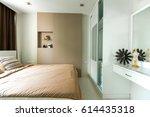 modern room interior | Shutterstock . vector #614435318