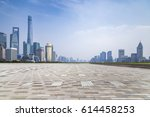 panoramic skyline and buildings ... | Shutterstock . vector #614458253