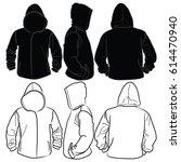 jacket | Shutterstock .eps vector #614470940