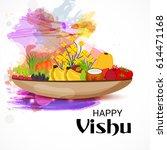 vector illustration of a banner ... | Shutterstock .eps vector #614471168