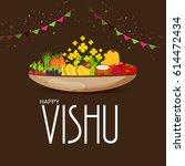 vector illustration of a banner ... | Shutterstock .eps vector #614472434