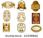 label   Shutterstock .eps vector #61448866