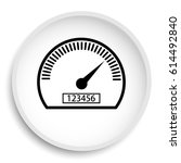 speedometer icon. speedometer... | Shutterstock . vector #614492840