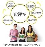innovation success ideas...   Shutterstock . vector #614497973