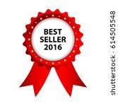 special red badge  best seller... | Shutterstock . vector #614505548