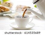 coffee | Shutterstock . vector #614535689