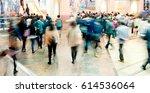 rush hour | Shutterstock . vector #614536064