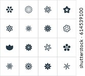 vector illustration set of... | Shutterstock .eps vector #614539100