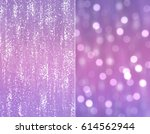 Set 2 Of Purple Abstract...