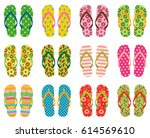 Set Of Colorful Vector Flip...