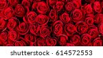 Stock photo natural red roses background 614572553