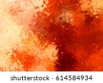 brushed painted abstract... | Shutterstock . vector #614584934