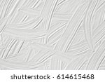 texture of white paint.... | Shutterstock . vector #614615468