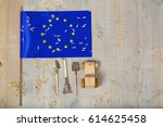 Small Flag Of European Union...