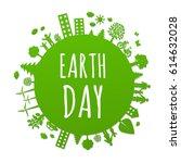 eco planet  | Shutterstock . vector #614632028