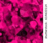dark ruby texture from... | Shutterstock .eps vector #614633114
