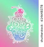colorful illustration of... | Shutterstock .eps vector #614648378