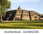 The Temple Of Borobudur On Jav...