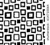 black and white geometric... | Shutterstock .eps vector #614710064
