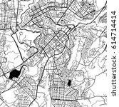 yerevan armenia vector map... | Shutterstock .eps vector #614714414