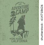 Forest Camping  Vintage Tee...