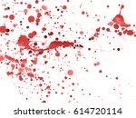 blood stains texture | Shutterstock . vector #614720114