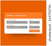 payment checkout choose card...