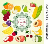 vector illustration logo... | Shutterstock .eps vector #614758190