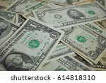 financial background made of... | Shutterstock . vector #614818310