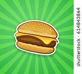 vector illustration.... | Shutterstock .eps vector #614843864