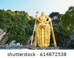Statue Of Hindu God Muragan ...