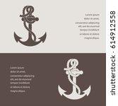 anchor  icon | Shutterstock .eps vector #614912558