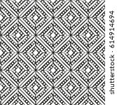 square abstract pattern.... | Shutterstock .eps vector #614914694