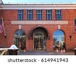 cooperstown  new york  usa.... | Shutterstock . vector #614941943