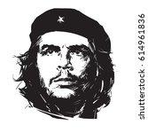 Ernesto Che Guevara. Hand Draw...