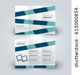 brochure mock up design... | Shutterstock .eps vector #615000854