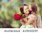 mother's day. | Shutterstock . vector #615010259