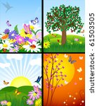 natural landscapes | Shutterstock .eps vector #61503505