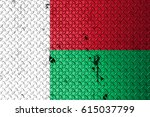 flag of madagascar   Shutterstock . vector #615037799