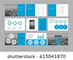 presentation flyer pamphlet... | Shutterstock .eps vector #615041870